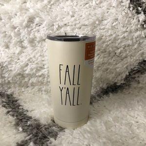 Rae Dunn fall y'all travel mug